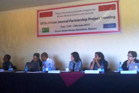 Projet de Partenariat des journaux africains
